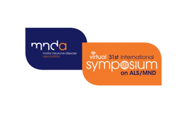 MNDA symposium blue and orange logo